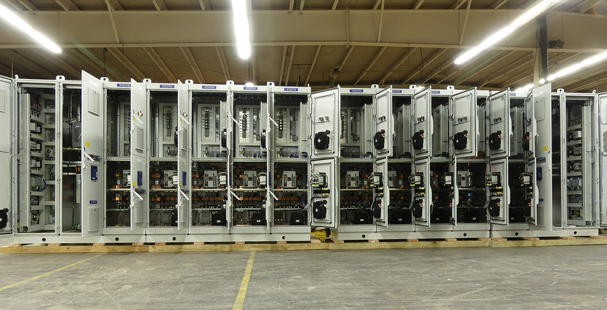 Industrial Electrical Control Panels